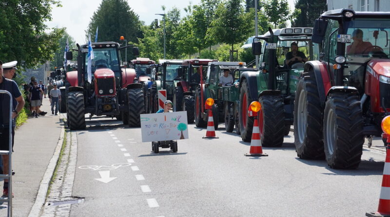 Protesty w Niemczech: producenci mleka domagają się lepszych cen